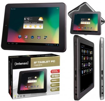 """Tablet Intenso 8\"""" android ICS 8GB wifi"""