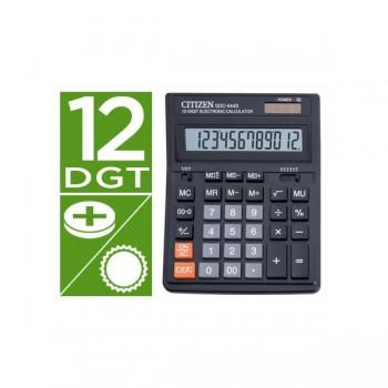 Calculadora citizen sobremesa sdc-444 s 12 dígitos