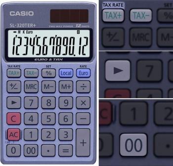 Calculadora de bolsillo casio SL 320 Ter+