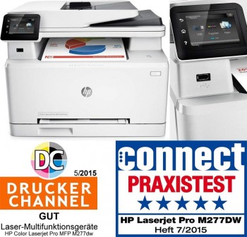 Multifunción HP color LaserJet Pro M277dw
