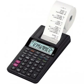 Calculadora impresora Casio HR-8RCE BK 12 dígitos