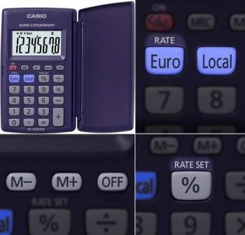 Calculadora de bolsillo Casio HL-820VER 8 dígitos