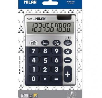 Calculadora Silver azul 10 dígitos