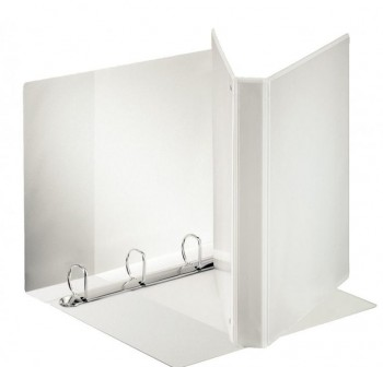 Carpeta canguro 4 anillas mixtas de  40MM - Blanco