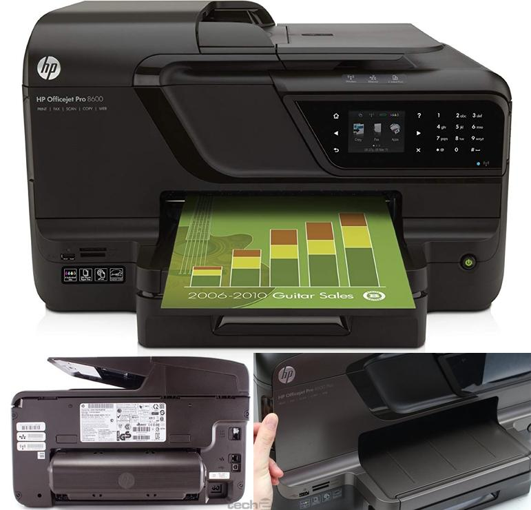 HP Multifuncion inkjet color OFFICE JET PRO 8600 PLUS A4 20PPM