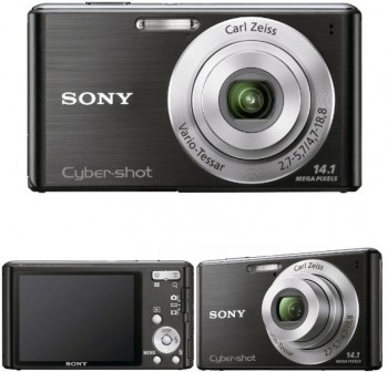 Cámara fotografica Sony con sensor had ccd 14,1mm pixels.