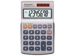 Calculadora de bolsillo Sharp EL-250E 8 digitos