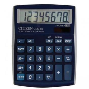 Calculadora financiera Citizen CDC-80 8 dígitos