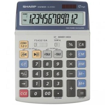 Calculadora financiera Sharp EL-2125C 12 dígitos