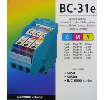 CANON Cartucho inkjet BC-31 color original