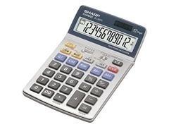 Calculadora financiera Sharp EL-337C 12 dígitos