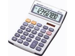 Calculadora sobremesa Sharp EL-334E 10 dígitos