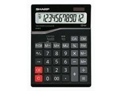 Calculadora sobremesa grande Sharp CH-612 12 digitos