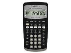 Calculadora financiera Texas TI BA II plus 12 digitos