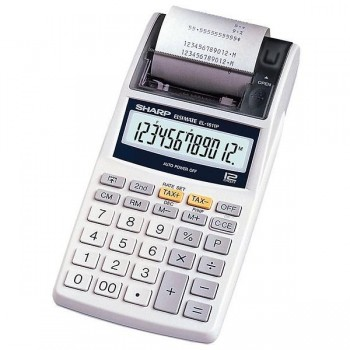 Calculadora Impresora Sharp EL-1611P 12 digitos