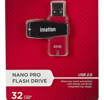 Disco duro USB Imation nano flash pocket 32GB