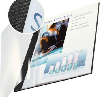 Pack 10 tapas flexibles encaudernacion clasic A4 3,5mm negro