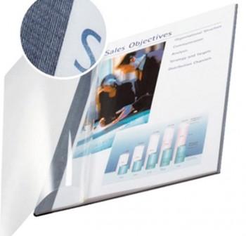 Pack 10 tapas flexibles encuadernación clasic A4 7mm azul
