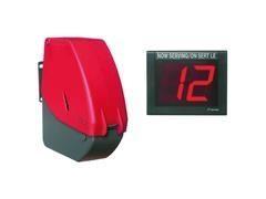 Kit dispensador ticket turno turnomatic+Marcador electrónico turno con mando a distancia+6 Rollos 40