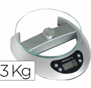 Pesacartas oficina electrónico Q-Connect 3kg