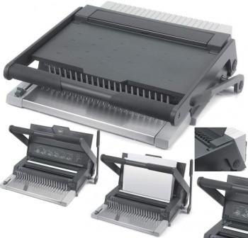 GBC Encuadernadora Multibind 420 - 3 funciones canutillos, espiral y perforadora (20hojas)