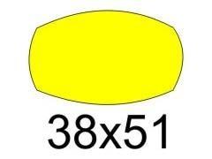 APLI Etiqueta adhesiva para escritura manuel fluorescente 3hojas