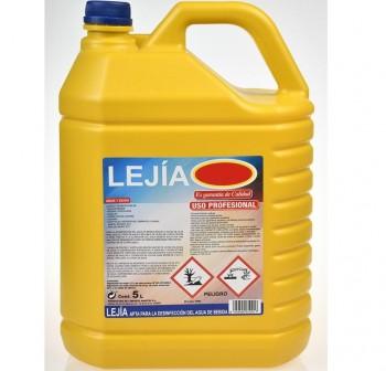 F7I Lejia concentrada garrafa 5 litros