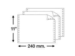 Caja 1500h papel continuo original y copia 11x240mm