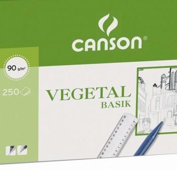 Pack 250 Láminas vegetal 90-95gr A3