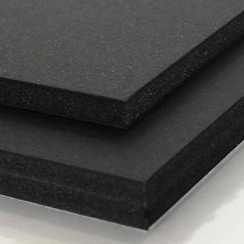 Lámina cartón Pluma classic  5mm din A4  negro