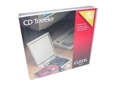 CURTIS Archivador cd transport para 5 cd s