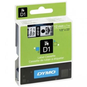 DYMO Cinta DYMO rotulacion electronica D3000 12x7, NEGRO/TRANSP.