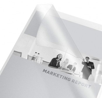ESSELTE Dossier uñero PVC transparente