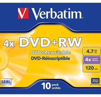 VERBATIM-IMATION DVD+RW 4x 4,7Gb.