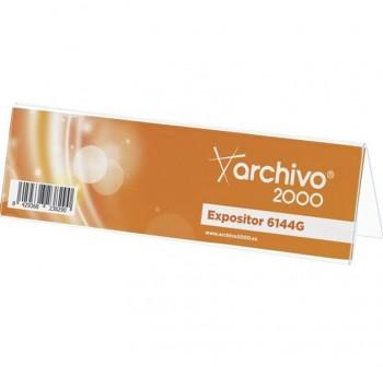 ARCHIVO2000 Portanombre mesa modelo 6144