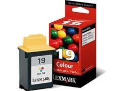 LEXMARK Cartucho inkjet 15M2619 color origin.Nº19 (225pag)