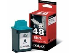 LEXMARK Cartucho inkjet 17G0648 negro origin.Nº48 (260pag)