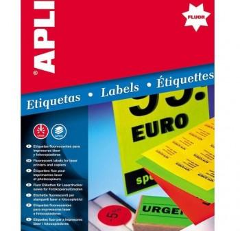 APLI Etiqueta adhesiva de envio en sobre con texto