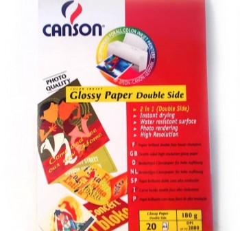 CANSON Papel Din A4 satinado