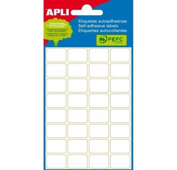 APLI Etiqueta para escritura manual para joyeria 4hojas
