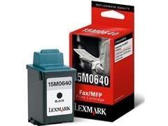 LEXMARK Cartucho inkjet 15M0640 negro original (900pag)