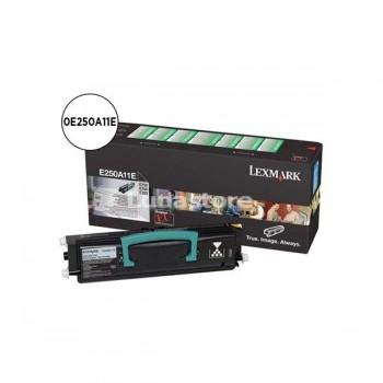 LEXMARK Toner laser 0E250A11E negro original