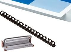 LAMIREL Encuadernadora canutillos microbind A4