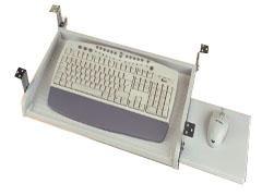 STEY Soporte para teclado + raton bajo mesa