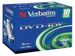 VERBATIM DVD-RW 4,7Gb/120min. 2x c-10
