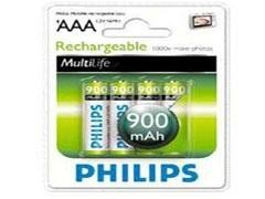 PHILIPS Pila recargable LR03 AAA