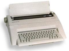 OLYMPIA Maquina de escribir confort MD