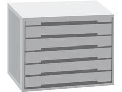 SMHEAD Modulo 6 cajones cerrados (buc)