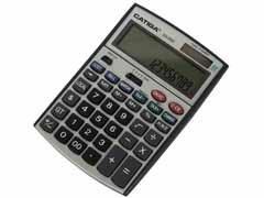 CATIGA Calculadora 12 digitos sobremesa con 3 lineas