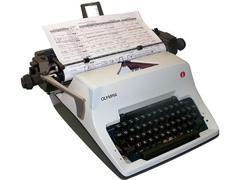 OLYMPIA Maquina escribir sg3 manual (carro 33)